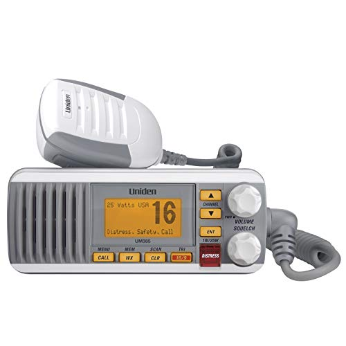 UM385 25 Watt Fixed Mount Marine Vhf Radio