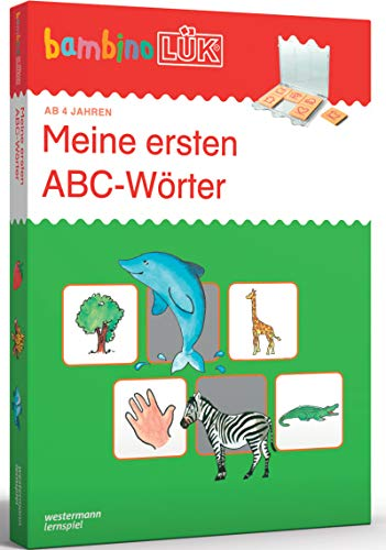bambinoLÜK-Sets / Kasten + Übungsheft/e: bambinoLÜK-Set: 4/5/6 Jahre - Vorschule: Meine ersten ABC-Wörter