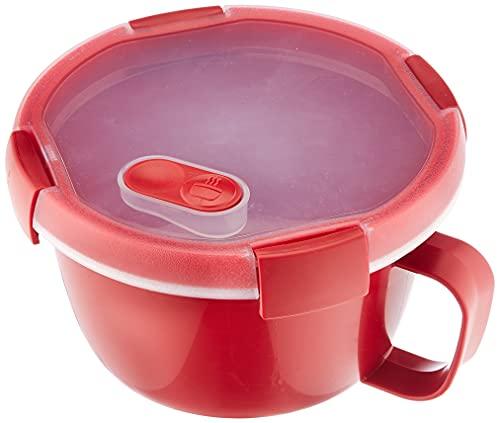 CURVER 232578Smart Tasse Mikrowelle Kunststoff rot 16x 16x 11cm 0,9l