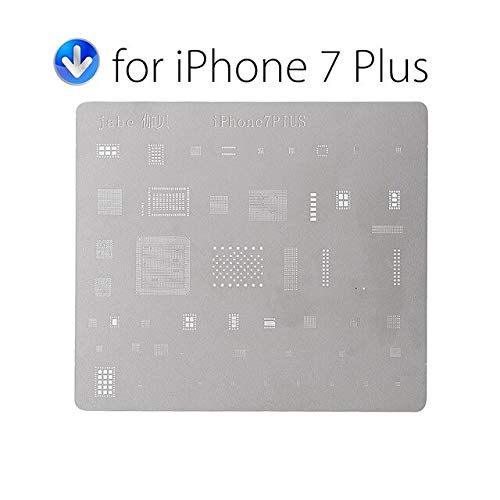 RAQ DIYFIX Telefoon Logica Board Reparatie Tool voor iPhone 7 6s 6 5s 5 Moederbord IC Chip Bal Solderen Net RVS Plaat For Iphone 7 Plus