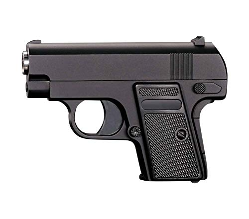 Pistola Softair Full Metal Rayline RV6 (presión de Resorte Manual), reproducción en Escala 1: 1, Longitud: 22 cm, Peso: 190 g (Menos de 0,5 Julios - a Partir de 14 años)