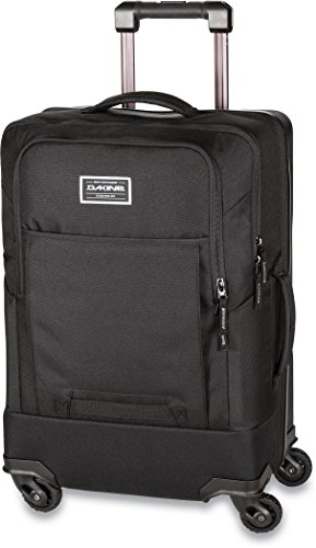 Dakine Terminal Spinner 40L Luggage with 4 Way 360 Spinner Wheels (Legal Carry On Size, 21.5 x 14 x 9), Black (10001478)