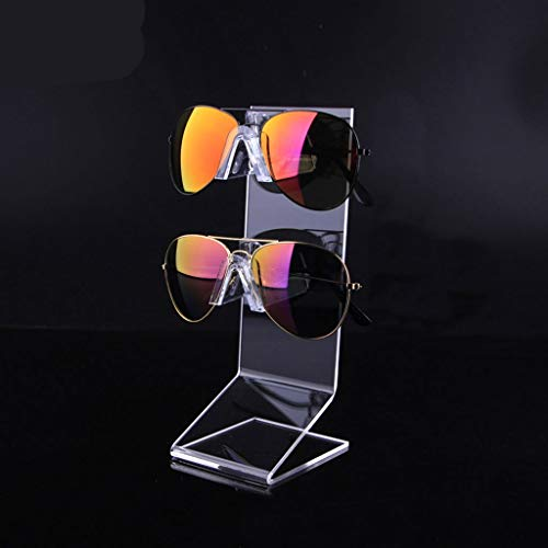 Soporte de exhibición de gafas Ventana de acrílico de la joyería del soporte de exhibición de los vidrios del soporte de exhibición del contador pequeños adornos gafas de sol soporte de exhibición Sop