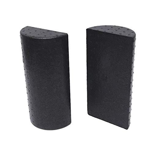 Cobeky 1 par 30 cm medio redondo espuma rodillo para yoga pilates deporte fitness equipo equilibrio pad yoga bloques