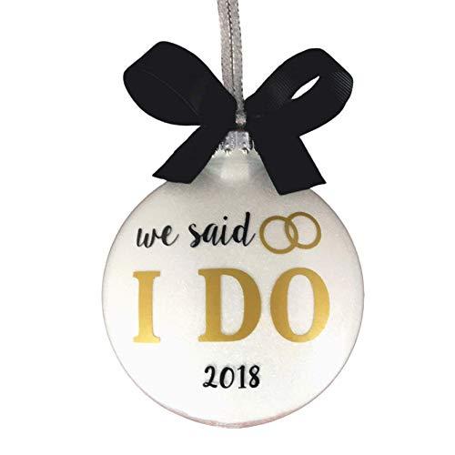 We said I Do Ornament