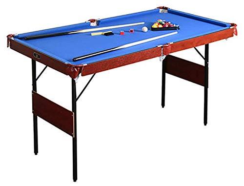 Billard/Billardtisch, Tischplatte Tischplatte Miniatur Billard Billardspiel Balltisch, kompletter Satz Werkzeuge, zusammenklappbares 4,6-Fuß, kreatives Tischspiel