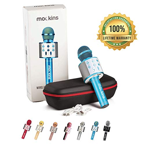 Best Review Of mockins Wireless Bluetooth Karaoke Microphone with Built In Bluetooth Speaker All-in-...