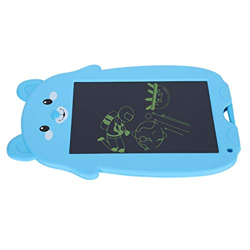 SALUTUYA Tableta de Escritura LCD, Tableta de Dibujo Digital, con Tiempo de Espera prolongado, alimentada por batería de botón,