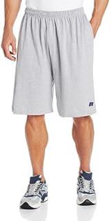شورت رجالي كبير وطويل من القطن جيرسي سهل الارتداء من Russell Athletic