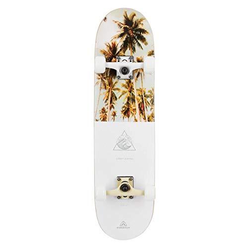Firefly Skateboard SKB 500, White/White/White