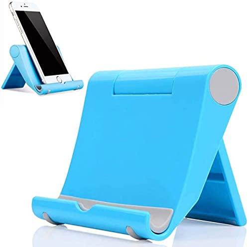 DYIGO Soporte Móvil, Soporte Tablet,para: Todos los teléfonos móviles y tabletas iPhone Sony LG,por Ejemplo: LG Q60 Q62 Q61 K61 K62 iPhone 13 iPhone 12 Pro Xperia 5 III Xperia 10 III(BLU)