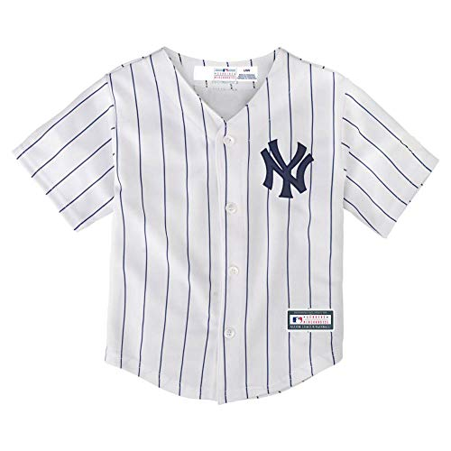 OuterStuff Aaron Judge New York Yankees #99 Youth Home Jersey (Youth Small 8)