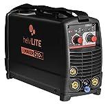Helvilite 99806016 - Soldadora TIG HF Inverter TigMaker 210HF Pulse con accesorios, 230 V, negro