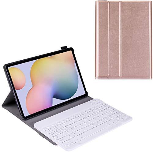 No-branded Lenovo Chromebook Duet 10.1 - Funda para teclado Lenovo Chromebook Duet 10.1, funda tipo libro con teclado Bluetooth desmontable para Lenovo Chromebook Duet 10.1