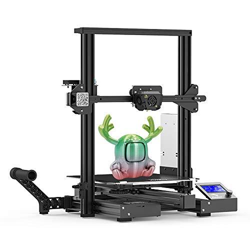 Impressora 3D Creality oficial Ender 3 Max, grande volume de construção, 300 × 300 × 340 mm DIY Ender Impressora 3D para iniciantes com placa principal silenciosa, extrusora de metal, ventoinhas duplas de resfriamento, fonte de alimentação Meanwell