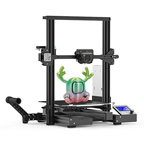 Creality Ender 3 Max 3D Printer 300 x 300 x 340mm, 2020 Newest All Metal FDM 3D Printer with Larger Glass Bed Silent Mainboard All Metal Extruder Smart Sensor Dual Cooling Fans