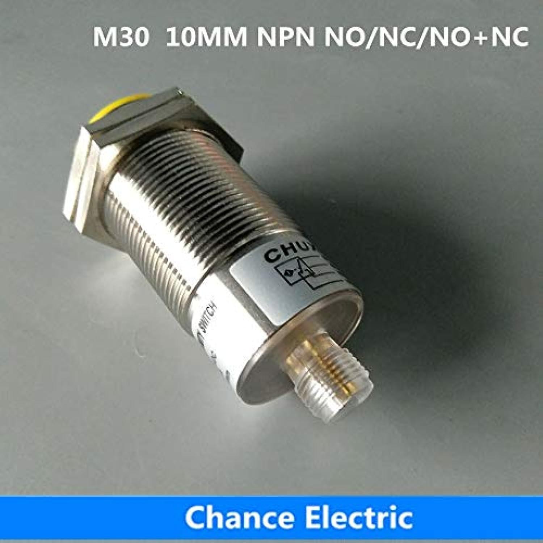 Inductive Proximity Sensor M30 10mm Distance NO NC NO+NC Half Sets Without Cable Switch Connector NPN  (color  NPN NC)