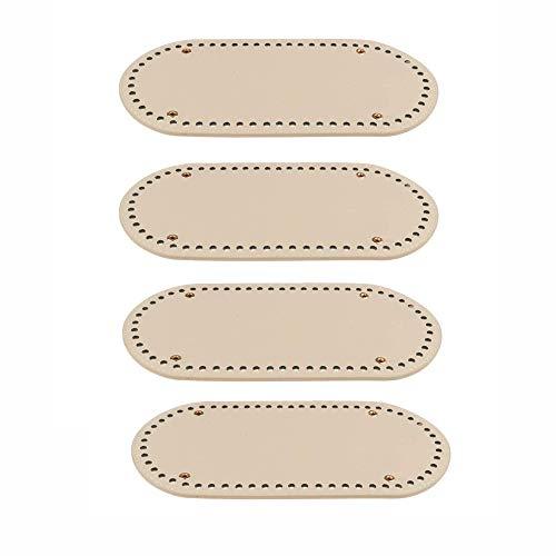 Langing 4 stuks handgeweven zakken voor het inbrengen van de basis van het kussen met gaten voor knutselwerk