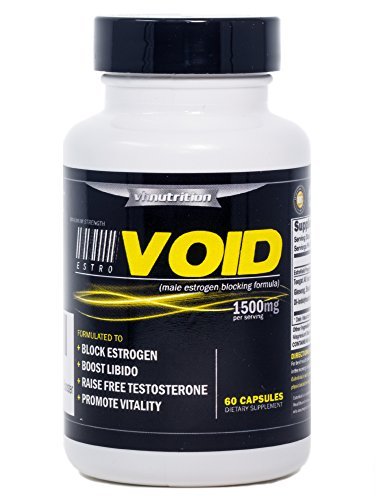 EstroVoid   Estrogen Blocker for Men  1500mg Natural Aromatase Inhibitor, Anti Estrogen Supplement