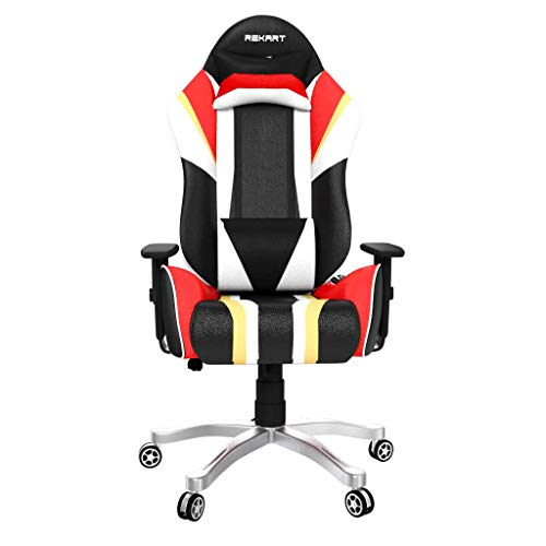 Sunny Enterprises SE-13 Gaming & Office Chair with Extra Comfort NeckRest and Lumbar Support 90-175 Degree Reclining