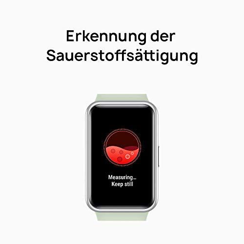 HUAWEI Watch Fit Smartwatch (42mm AMOLED-Display, Herzfrequenzmessung, 5ATM wasserdicht, GPS) Graphite Black [Exklusiv + 5 EUR Amazon Gutschein] - 6