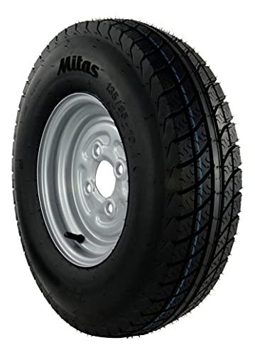 5.00-10 72N 4PR Komplettrad 135/145-10 Trailer Anhänger Reifen Rad Felge 3.50x10