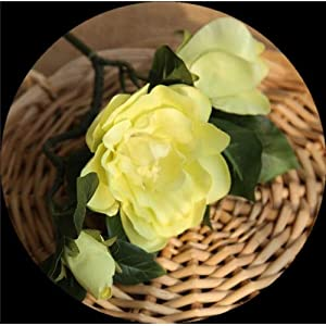 Artificial and Dried Flower DIY Artificial Gardenia Flowers Home Garden Party Decoration Craft Simulation Flores Flowers Wedding Fake Florals 4 Colors 47cm