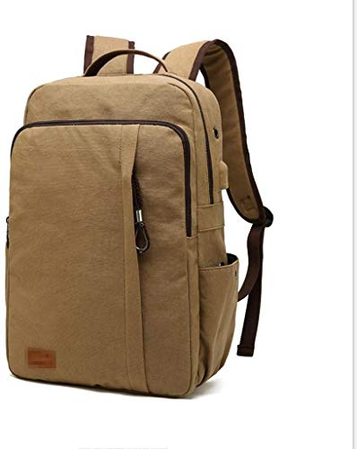 Casual Rucksack Universal Wild Large Capacity Canvas Tasche USB-Ladeanschluss Paket Student Packet (Farbe: # 3)