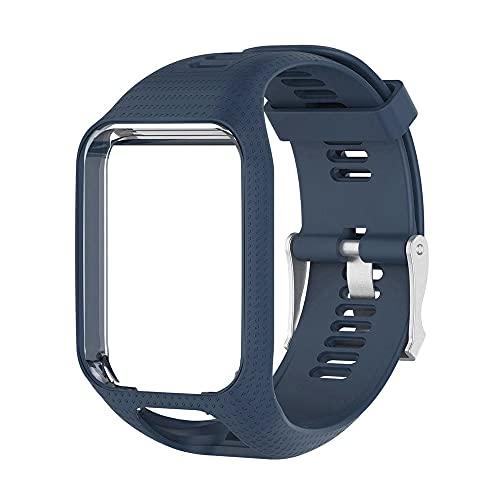 Handgelenk Band Strap Für Tomtom 2 3 Für Runner Für Funkenmusik Ersatz Armband Weiche Uhrband Silikon Gürtel Watch Armband Zubehör Drohnen Zubehör (Color : D)