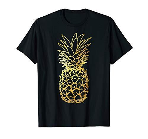 Ananas gold Aloha Strände Hawaii–Hawaiian Shirt