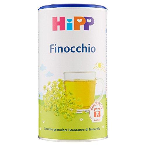 Hipp Tisana con Isomaltulosio Finocchio - 3 pezzi da 200 gr [600 gr]