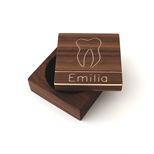 Personalisierte Zahndose mit Gravur