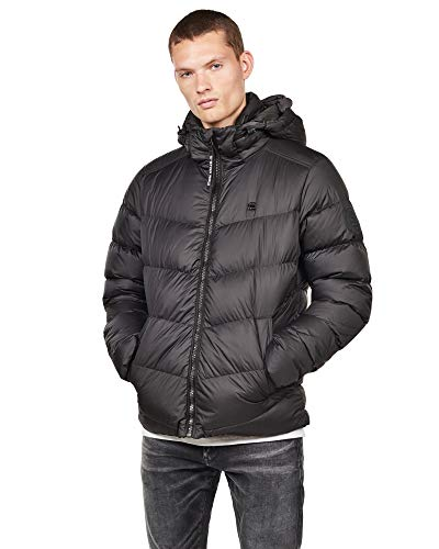 G-STAR RAW Herren Whistler Down Puffer Jacke, Schwarz (dk Black 6484), (Herstellergröße:XL)