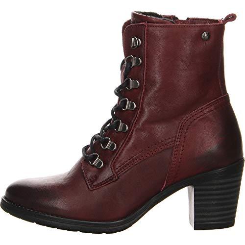 Salamander Damen Stiefelette Roky Boots rot Gr. 38
