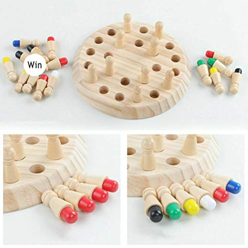 COMPY Giochi da Tavolo Giocattolo Bambini Memory Match in Legno Stick Gioco di Scacchi Giocattoli educativi Cervello Regali di Allenamento Abilità cog