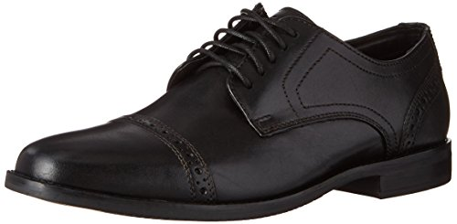 Rockport Herren Derby Room Zehenkappe Oxford, schwarz, 45 EU