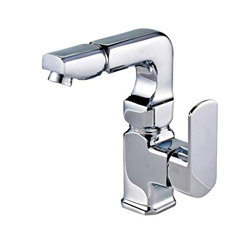 S$S Warme en koude basin kraan basin badkamer wastafelkraan universele rotatie