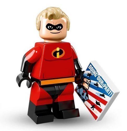 LEGO Disney Series 16 Collectible Minifigure - Mr. Incredible (71012) by