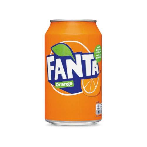 48 Dosen Fanta Orange (48 x 0,33 L) (Europa) EINWEG