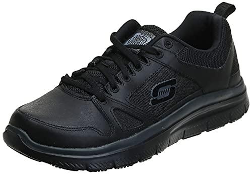 Skechers mens Flex - Advantage fashion sneakers, Black,...