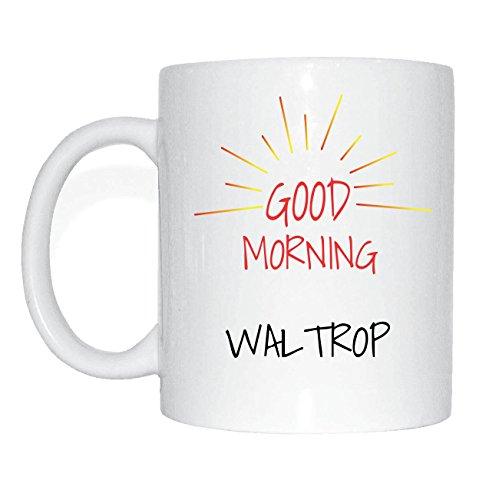 JOllify WALTROP Kaffeetasse Tasse Becher Mug M1324 - Farbe: weiss - Design 7: Good Morning - Guten Morgen