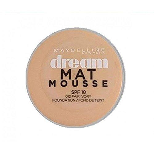 Maybelline Dream Matte Mousse 012 Fair Ivory