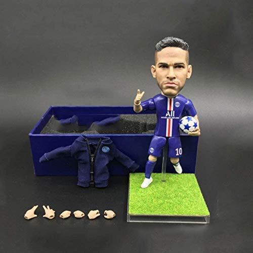 Figura de acción de la Estrella de fútbol Neymar 1/6 del colector...