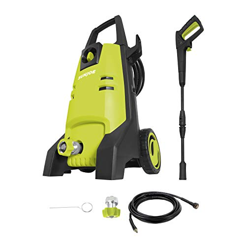 Sun Joe SPX1501-GRY 1800 Max PSI 1.8 GPM 13-Amp Electric Pressure Washer, Gray