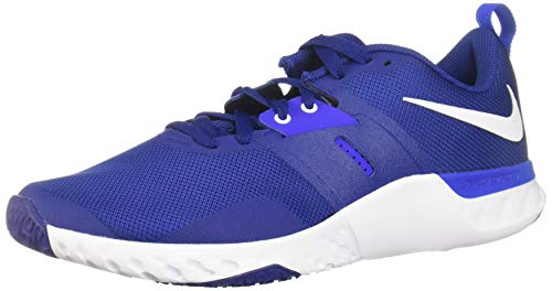 Nike Herren Renew Retaliation Tr Fitnessschuhe, Deep Royal Blue White Racer Blue, 45 EU
