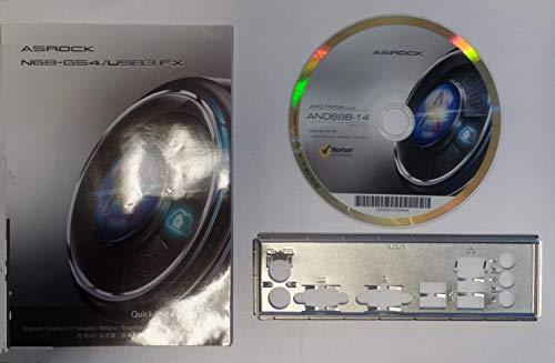 ASRock N68-GS4USB3 FX - Handbuch - Blende - Treiber CD #306303