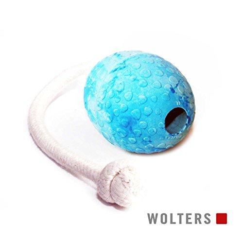 Wolters Straußen-Ei am Seil Gr.M 80x60mm aqua