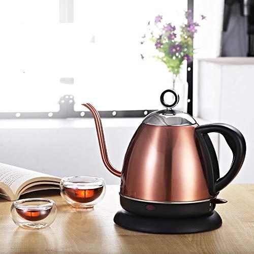 Bouilloire Electrique Swan Neck Teapot Electric Boiler Température Ajustable Isolation Acier inoxydable Thé tea Tea