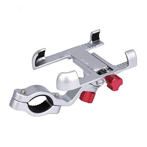 YYJH Soporte para teléfono Ajustable Soporte for teléfono de aleación de Aluminio de Bicicletas for Bicicletas móvil Monte de teléfono for la Bicicleta de navegación Soporte Accesorios MTB