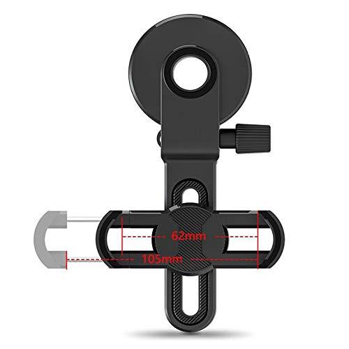 Busirsiz Microscopio de teléfono móvil Microscopio Microscopio Accesorios de cámaras miniatura Clip de cámara de teléfono móvil adaptada (Color : Black)